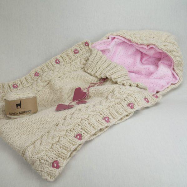 Babyschlafsack aus der Wolle von Einstein
