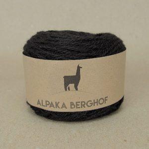 Alpakawolle schwarz 50g Knäuel